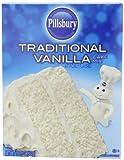 Pillsbury Traditional Cake Mix, Vanilla, 15.25 Ounce (Pack of 12)