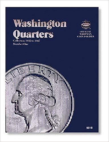 [0307090183] [9780307090188] Washington Quarter Folder 1932-1947 (Official Whitman Coin Folder) – Hardcover