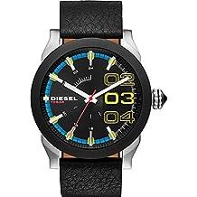 Diesel Double Down DZ1677 Men's Wrist Watches, Black Dial