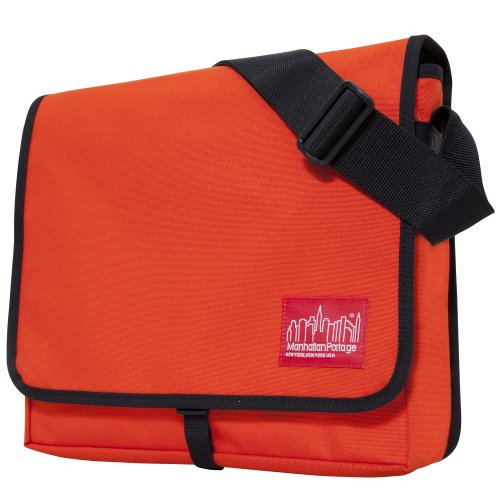 Manhattan Portage DJ Bag, Orange, Medium (Dj Record Bag)