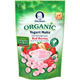 Gerber Organic Yogurt Melts, Red Berries, 1 oz