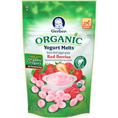 Gerber Organic Yogurt Melts Berries