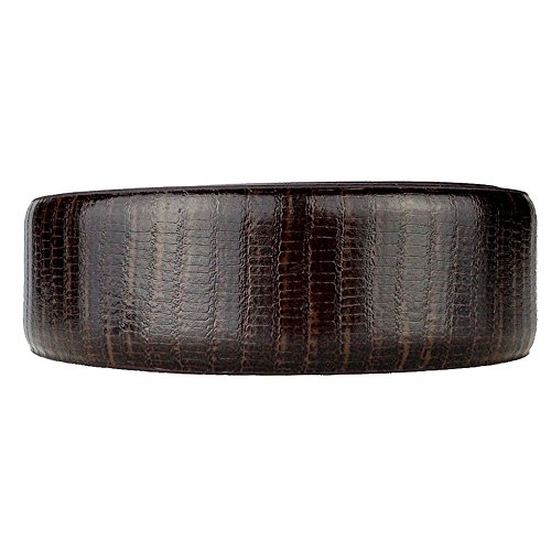 Nexbelt Rachet System Technology - Strap: Lizard Brown The Belt with No Holes, Precise Fit, Men's Classic Reptile Leather Belt Strap Only