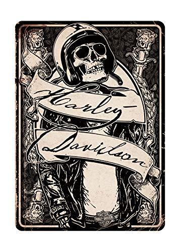 - Harley-Davidson Skeleton Rider All Occasion Greeting Card