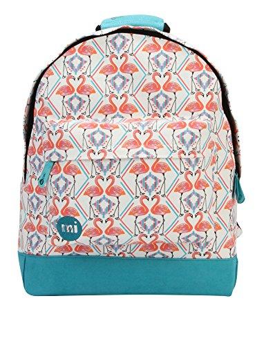 Mi-Pac Women's Flamingos Women's Backpack In White White by Mi-Pac