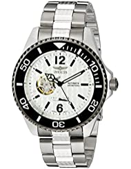 Invicta Mens 15597 Pro Diver Analog Display Japanese Automatic Silver Watch
