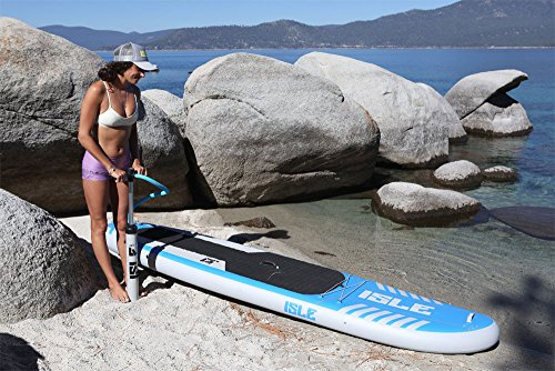 """ISLE Airtech 10' Inflatable Stand Up Paddle Board (6"""" Thick) 