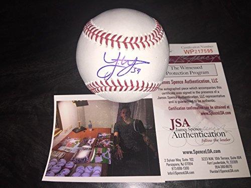 Joe Musgrove Houston Astros Autographed Signed MLB Baseball Proof JSA COA