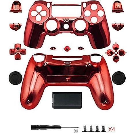Repuesto para carcasa protectora de Playstation, repuesto PS4 del mando a distancia, viene con botón, producto para Playstation, de la marca Dualshock ...