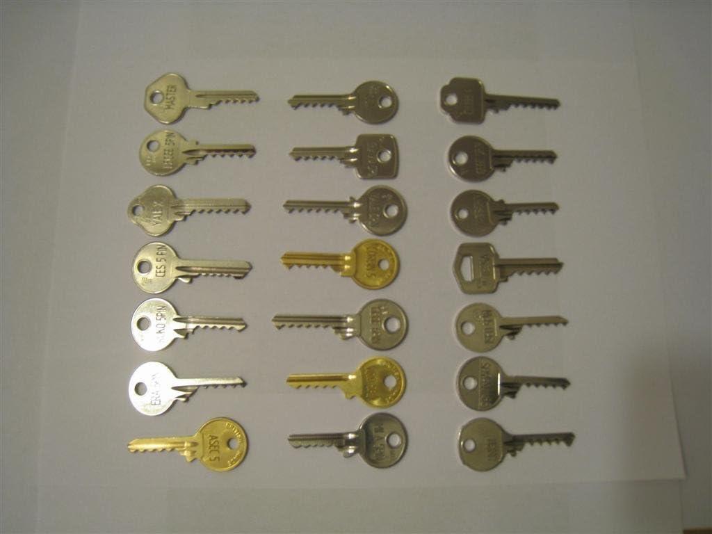 Keys-Cut - Juego de llaves para bumping (24 unidades): Amazon.es ...