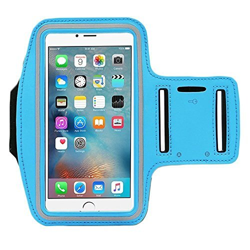 Chocolate Leotard - [1 Pack]Running Armband,CaseHQ Sports Water Resistant with Key Holder Pouch Fit iPhone 7 6 6s Plus(5.5-Inch) Samsung Galaxy S7 S6/S5, Note 4/3 ,Bundle with Screen Protector