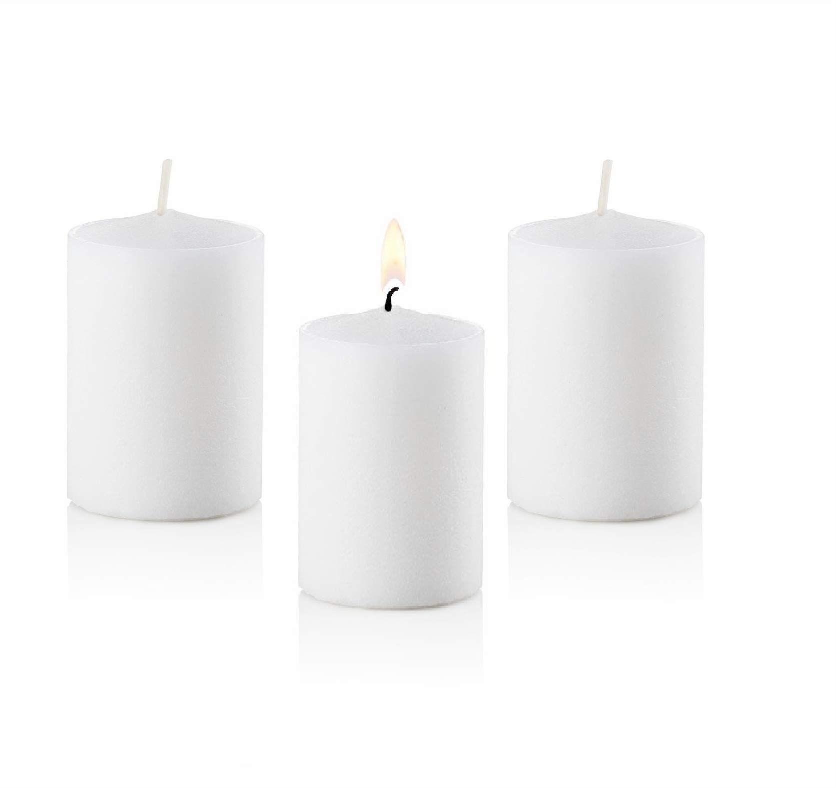 D'light Online 15 Hour Unscented White Emergency and Events Bulk Votive Candles (White, Set of 144) by D'light Online (Image #8)