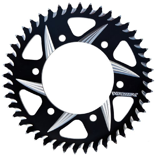 Black 45 Tooth - Vortex 452AZK-45 Black 45-Tooth 520-Pitch Rear Sprocket