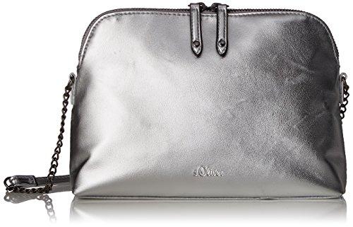 s.Oliver (Bags) 39.804.94.3335 - Bolsos bandolera Mujer Plateado (Silver)