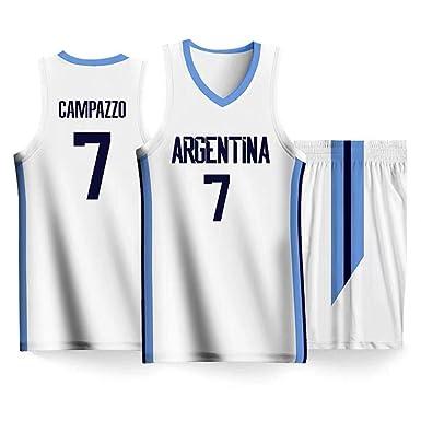 Facundo Campazzo #7 Ropa De Baloncesto para Hombres - NBA ...