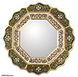 NOVICA Mirror, Green Star