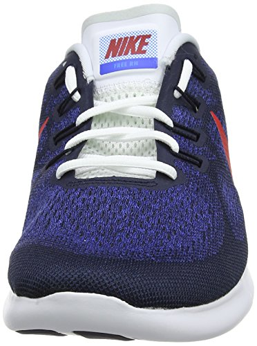 2017 photo Rn racer Shoes white 's university Free 406 Red black Blue obsidian Nike Blue Men Blue Running xSIqpp