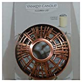 Yankee Candle Copper Plaid Illuma-Lid Jar Candle Topper