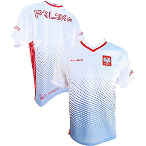 the latest 2024b 893f7 Youth Polska Soccer Jersey Polish Pride Poland National Team ...