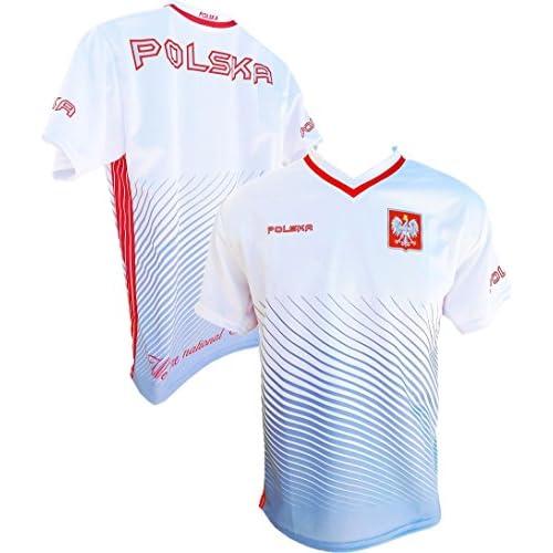 the latest b6072 f6a1c Youth Polska Soccer Jersey Polish Pride Poland National Team ...