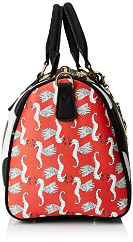 Amazon Bols Desigual X Lola It Bowling Patch 21 2x18x30 Rosso H TtqS5qx1