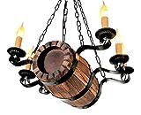 Metal Wagon Wood Wheel Chandelier BOCHONOK.Sale Home Decor Farmhouse Decor Vintage, Antique, Country, Retro, Rustic Style for House, Restaurant, Kitchen, Bedroom, Bar, Hall, Club, Hotel