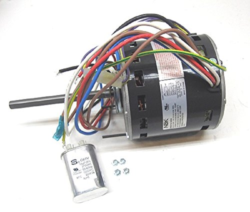 D727 REPLACEMENT UNIVERSAL FIT - FURNACE MULTI HP BLOWER MOTOR - 1/3-1/5HP 115V 1075RPM