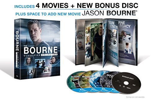 The Bourne Classified Collection Blu Ray Digital Hd
