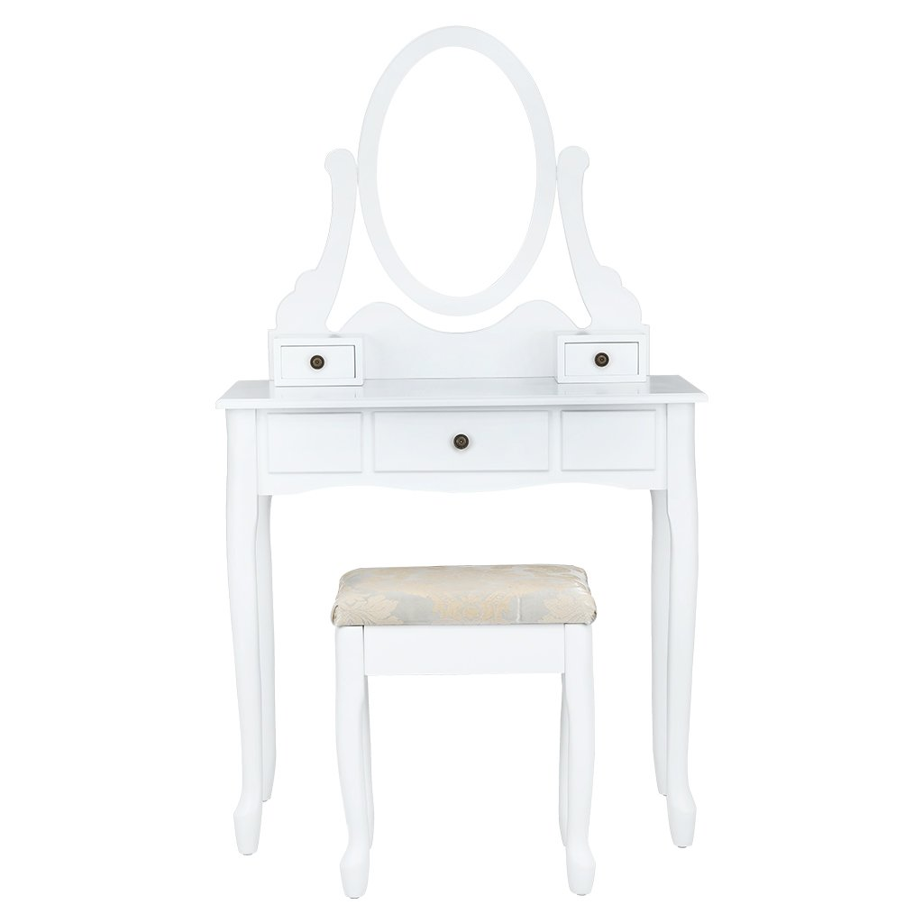 LANGRIA Dressing Table Simple Style (1 Mirror Style 1)