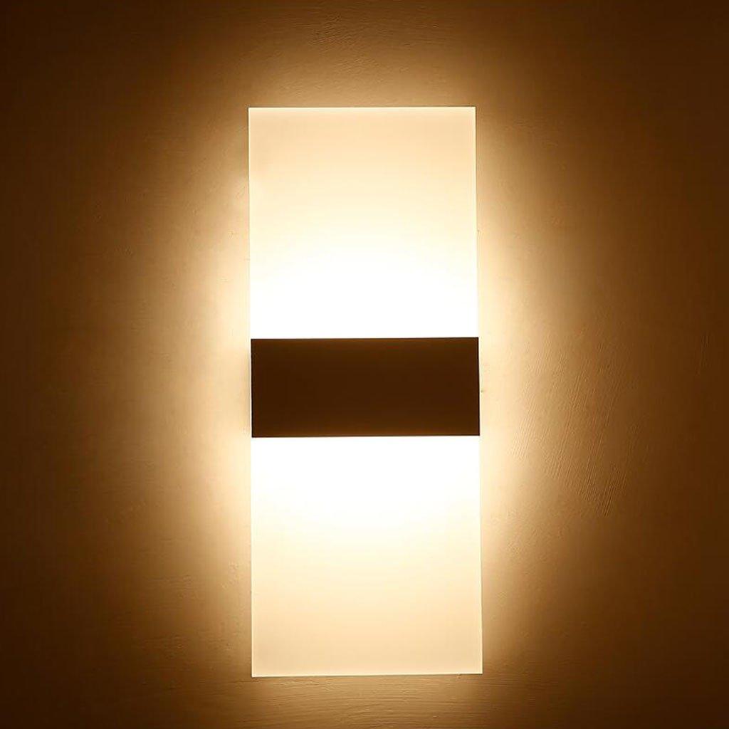 Moderne kreative Nachttischlampe Wandleuchte Wohnzimmer Schlafzimmer Korridor Gang Wand LED Wandleuchte - Wandleuchte (Größe   M)