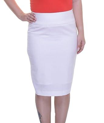 7e730bf623 Alfani Womens Slit Knee-Length Pencil Skirt at Amazon Women's ...