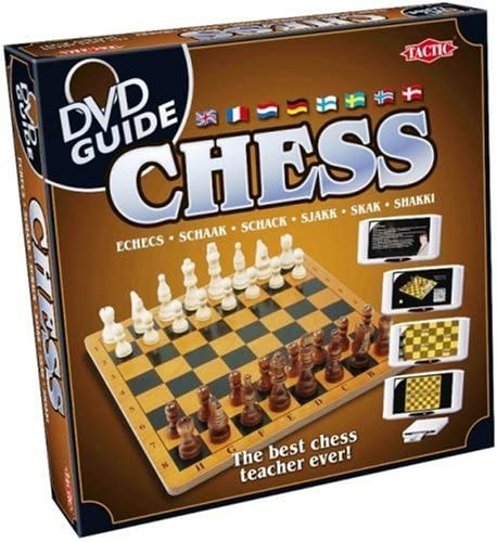 Tactic Games UK Ajedrez con guía de DVD: Amazon.es: Juguetes y juegos