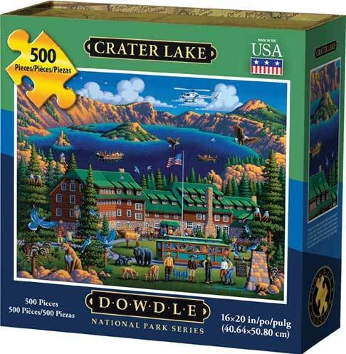 Dowdle Jigsaw Puzzle - Crater Lake National Park - 500 Piece