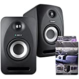 Pair of Tannoy Reveal 402 Powered Studio Monitors w/ MoPads