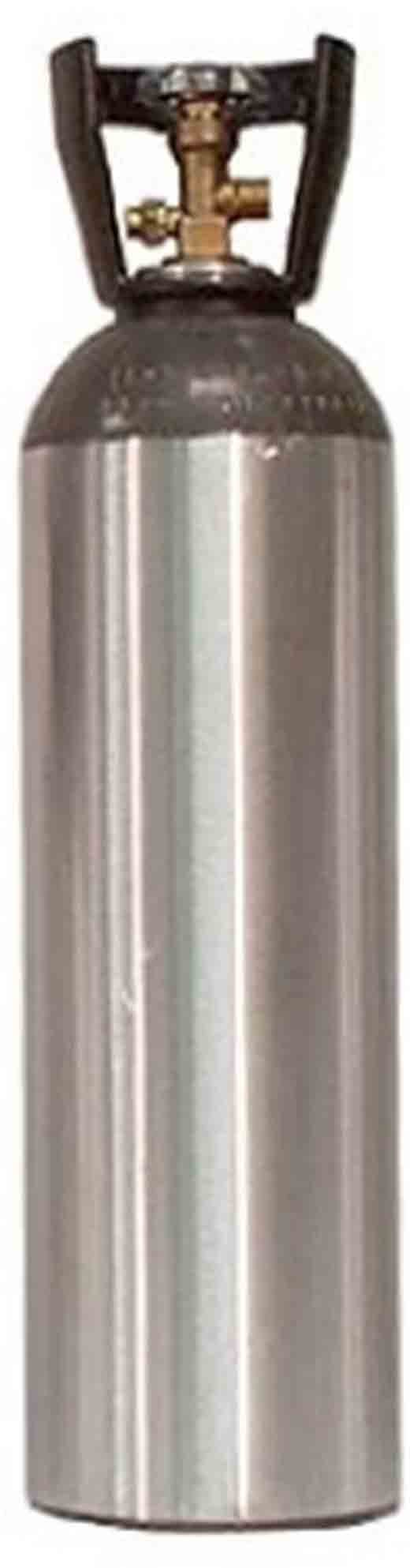 15 Pound CO2 Aluminum Cylinder Tank New - Sherwood CGA 320 Valve, Soda System Home Brew Making (Carry Handle) by Catalina