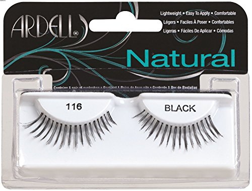 Ardell Fashion (Ardell Fashion Lashes Pair Black - 116 (Pack of 6 Pairs))