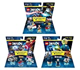 Ghostbusters Peter Venkman Level Pack + Back To The Future Marty McFly Level Pack + Doctor Who Level Pack - Lego Dimensions (Non Machine Specific)