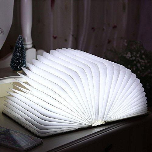 LED Book Shape Light Portable Paper Folding Light Book Lamp Table Lamp Hanging Wall Light / . : . LED Book Shape Folding Light . . Specification: . Size: 26x21x3cm . . Color: Brown &