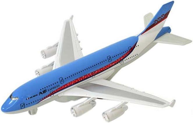 Black Temptation Los Aviones de los niños simulan el Regalo del Muchacho del combatiente / Airliner de los Juguetes_A380#3