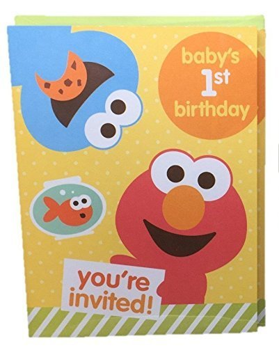 Image Unavailable Not Available For Color Sesame Street Babys 1st Birthday Party