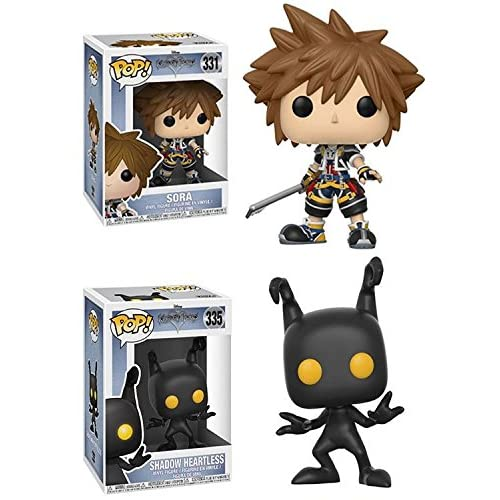 Funko POP! Kingdom Hearts: Sora + Shadow Heartless – Disney Stylized Movie Vinyl Figure NEW