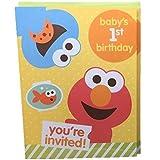 amazon com sesame street invitations cards party supplies