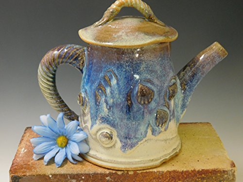 569 Teapot, Wheel Thrown/Altered, Tea Pot, Pottery by Mission Hills Pottery