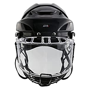 GY Propene Polymer Ice Hockey Helmets Full Mask Combos With Perfect Visor Full-cover Training Sports Equipment