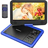 """Best Amazon Portable DVD Players - COOAU 12.5"""" Portable DVD Player 10.5"""" Swivel Screen Review"""