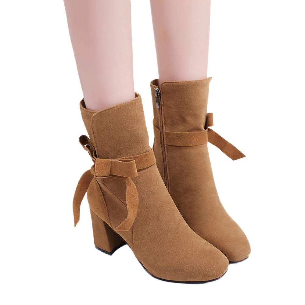 Winter Schuhe Tianwlio Stiefeletten Stiefel Frauen Herbst sChxtrdQ