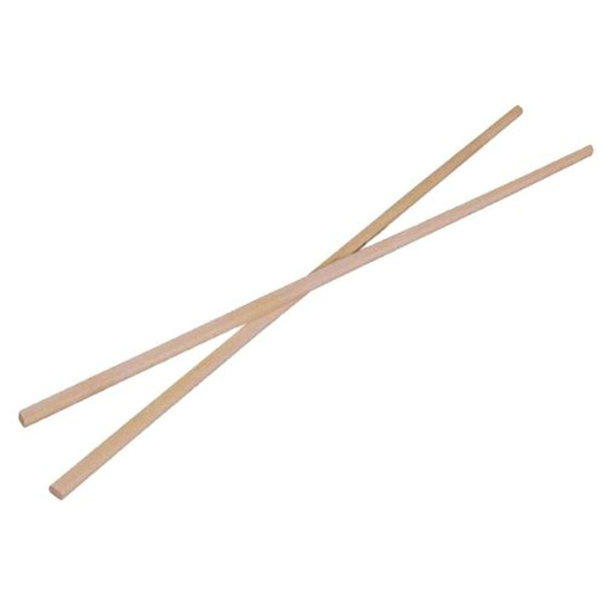 Bamboo Chopsticks in Sleeve (Case of 100), PacknWood - Disposable Chop Sticks for Cooking/Eating (9.45