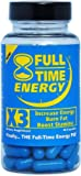 Full-Time Energy X3 - 30 Capsules - Increase Energy Burn Fat Boost Stamina - Best Natural Energy Booster Fat Burner Supplements Stamina Enhancer - Diet Pills - Weight Loss Pills To Lose Weight Fast for Men and Women