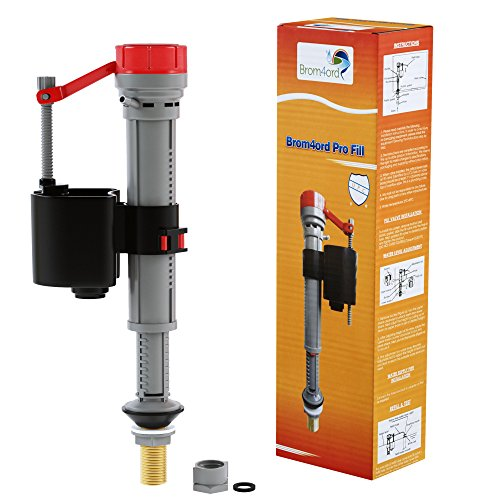 Toilet Fill Valve Repair Kit | American Standard Plumbing Parts | Easy To Install With Adjustable Height Feature | Brom4ord Pro Fill