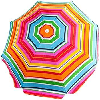 Amazon Com Picnic Time Outdoor Umbrella Multi Color